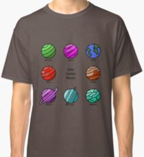 Solar System Planets - Super Eight Classic T-Shirt
