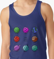 Solar System Planets - Super Eight Tank Top