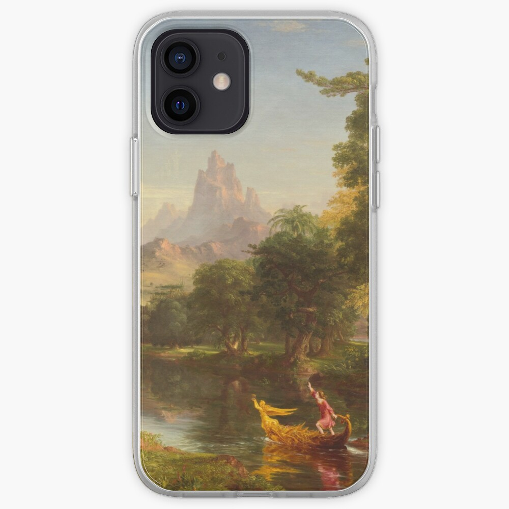 The Voyage of Life Youth Painting by Thomas Cole iPhone Case & Cover