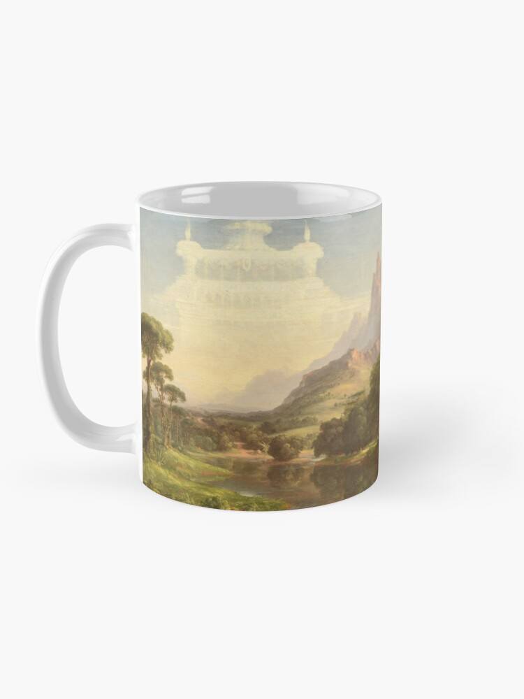 Alternate view of The Voyage of Life Youth Painting by Thomas Cole Mug