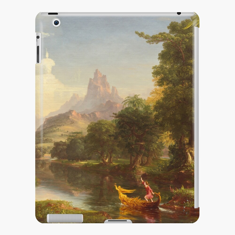 The Voyage of Life Youth Painting by Thomas Cole iPad Case & Skin