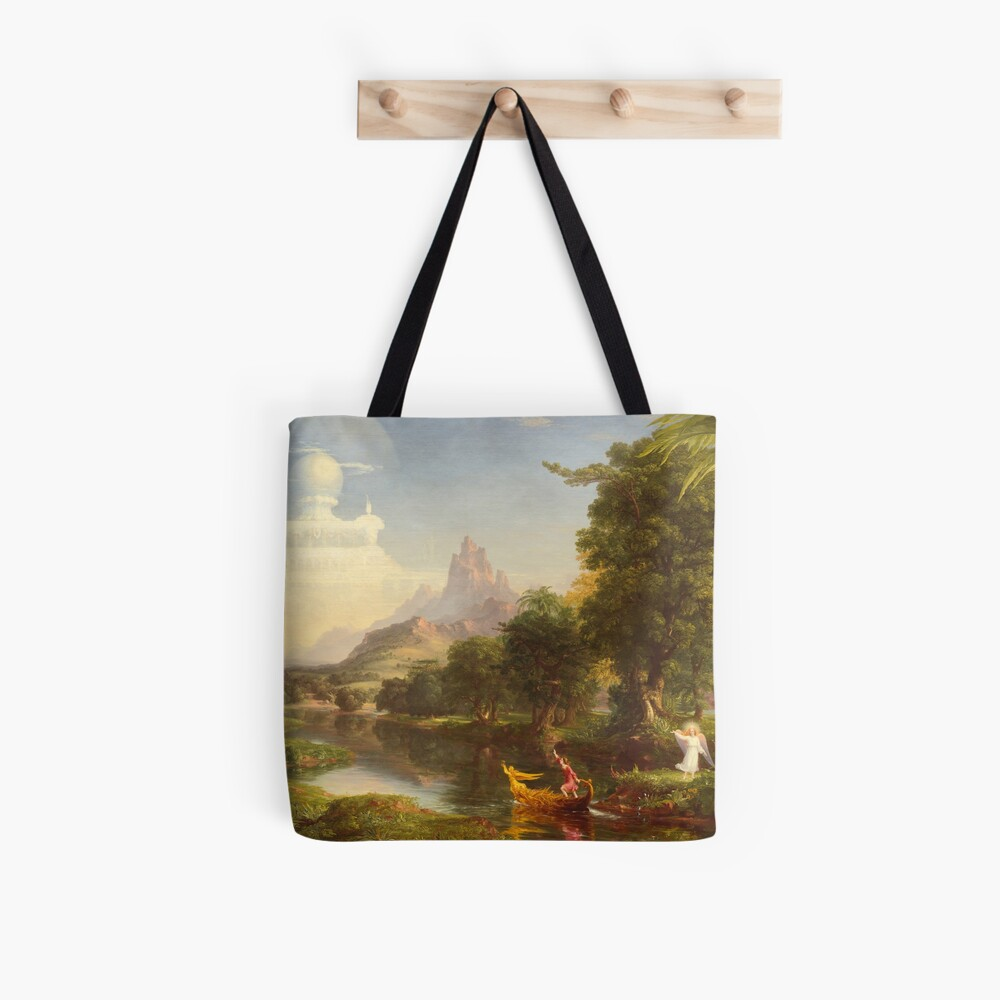 The Voyage of Life Youth Painting by Thomas Cole Tote Bag