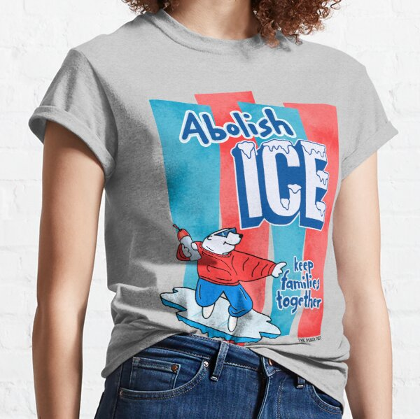 ICE abschaffen - The Peach Fuzz Classic T-Shirt