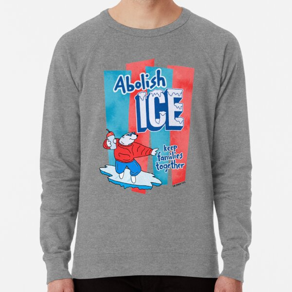 Abolish ICE - The Peach Fuzz Lightweight Sweatshirt