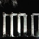 Athens at Night by Dale Lockridge