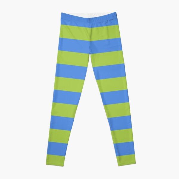 W.I.T.C.H. Will Vandom cosplay tights blue green stripe Leggings