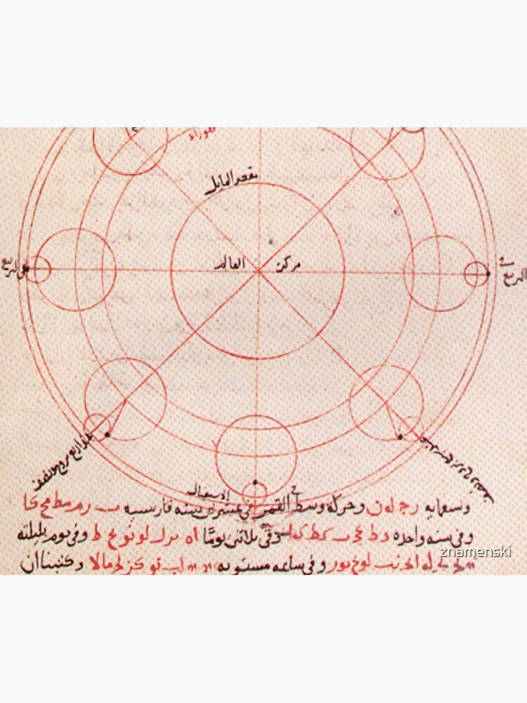 Ibn-al-Shatir's #Lunar #Model #IbnalShatir #Astronomy by znamenski