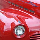 Red Classic Car by Elspeth  McClanahan