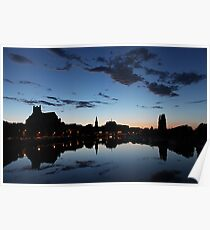 Night falls on Auxerre 2 Poster