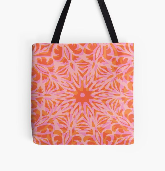 Floral Chaos 3 All Over Print Tote Bag