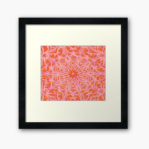 Floral Chaos 3 Framed Art Print
