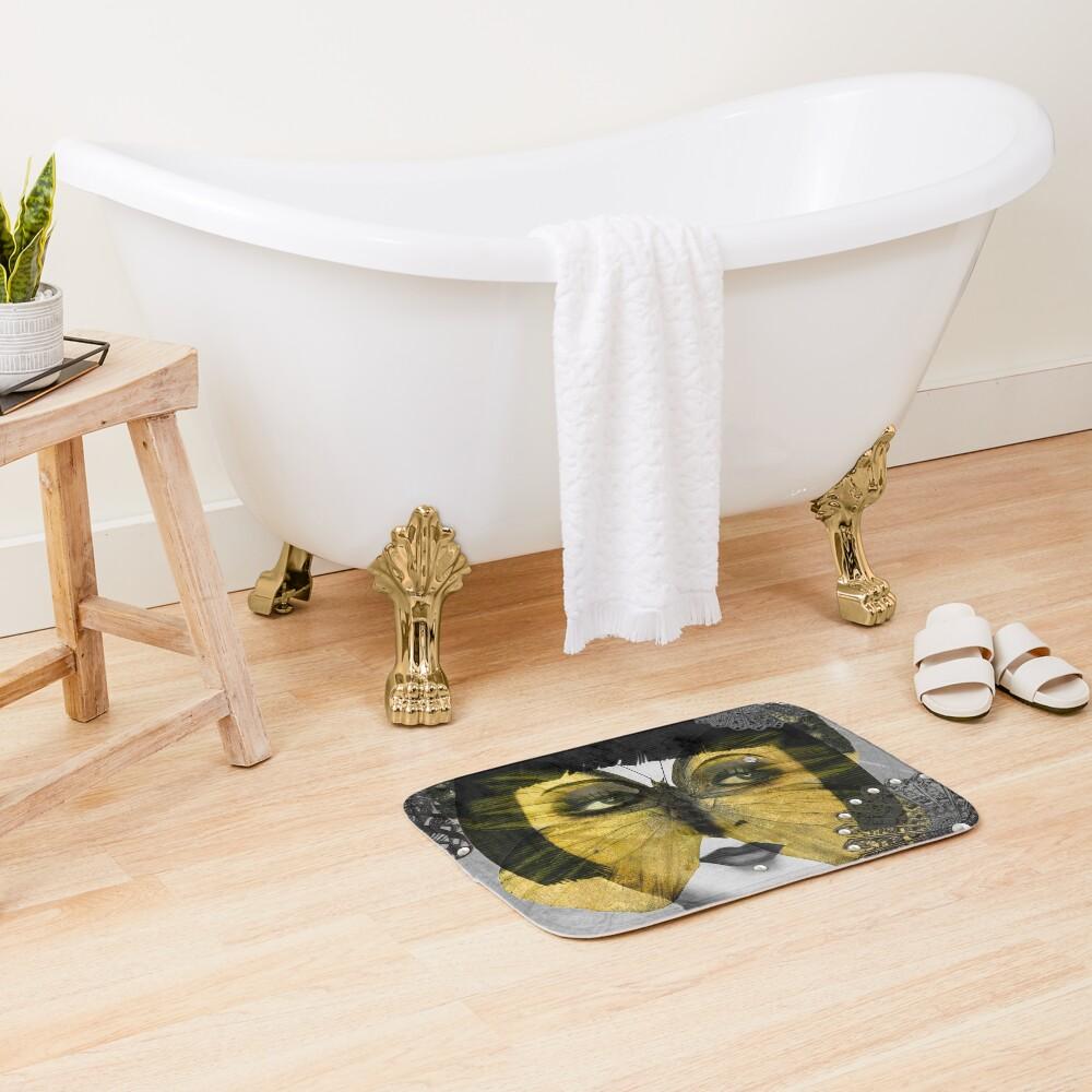 Butterfly Woman Bath Mat