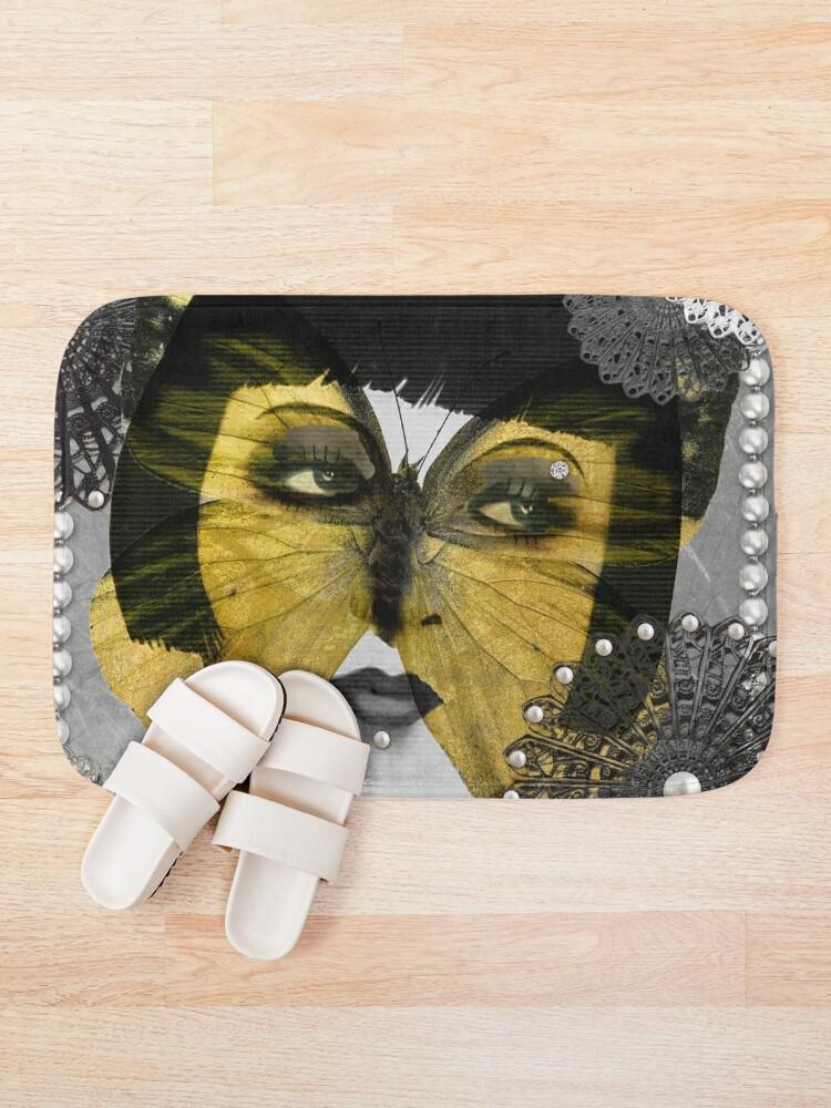 Alternate view of Butterfly Woman Bath Mat