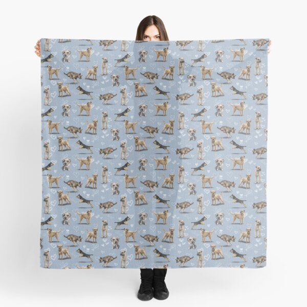 The Border Terrier Scarf
