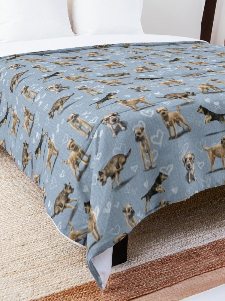 Alternate view of The Border Terrier Comforter