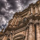 Facciata della chiesa di San Francesco by Andrea Rapisarda
