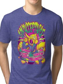 LEMONGRAB: UNACCEPTABLE Tri-blend T-Shirt