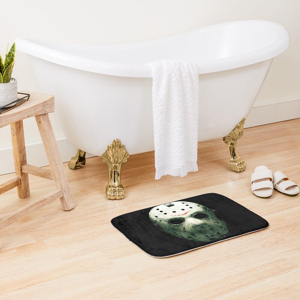 friday the 13th Bath Mat