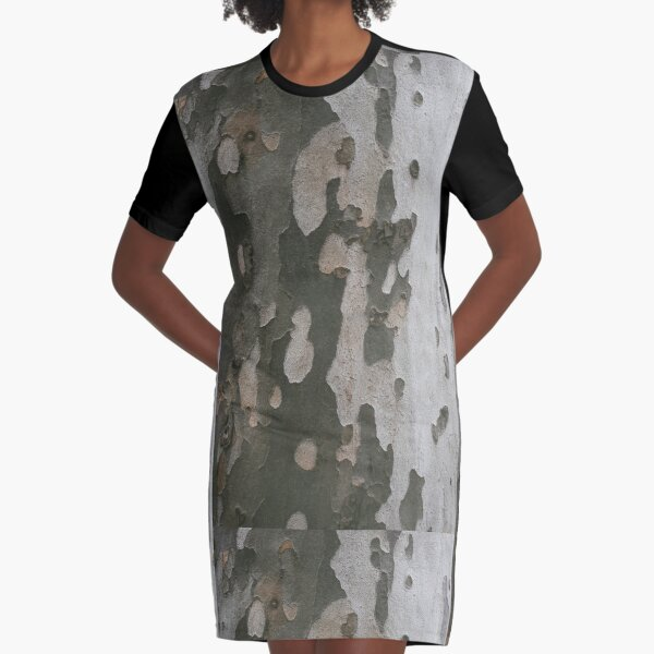 Camouflage FWYW Graphic T-Shirt Dress