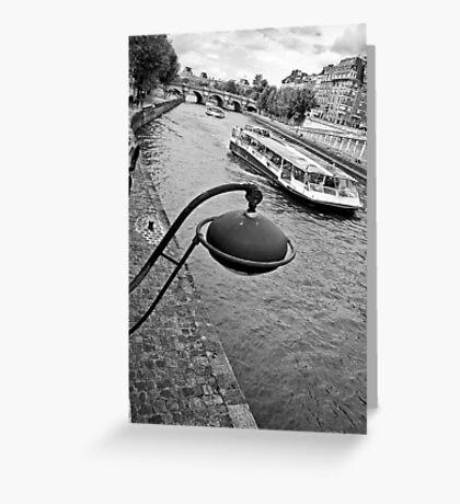 Paris' curves Greeting Card