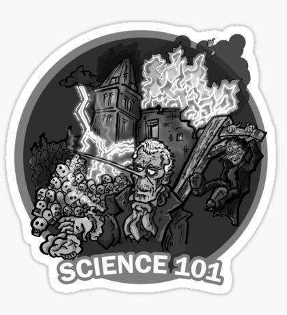Frankenstein - Science 101 Sticker