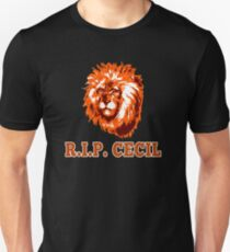 RIP CECIL THE LION T-Shirt
