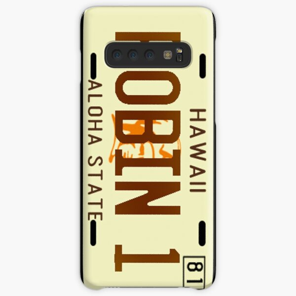 Magnum PI License Plate Samsung Galaxy Snap Case