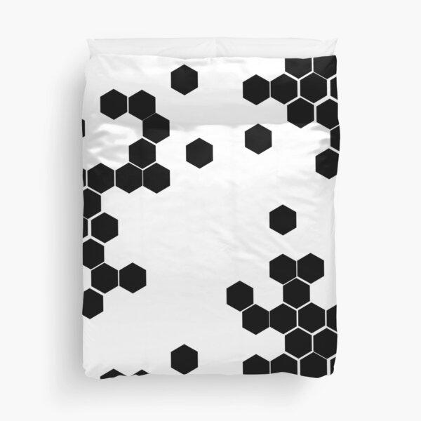 Honeycomb Cyberpunk Duvet Cover