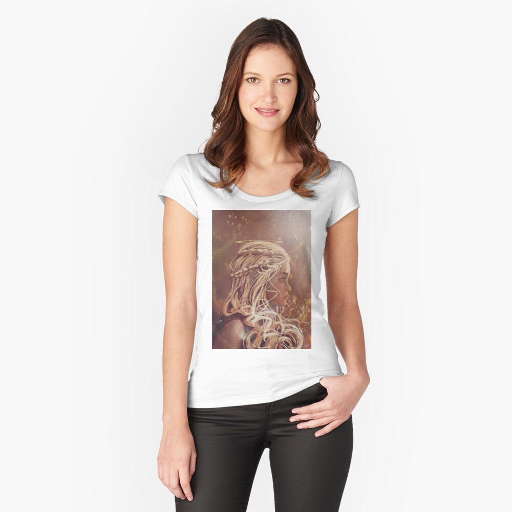 Emilia  Fitted Scoop T-Shirt