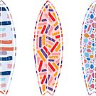 Surfboard Abstract by tmckaydesigns