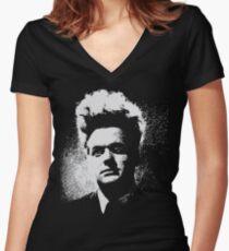 Eraserhead Henry Spencer - Transparent design Women's Fitted V-Neck T-Shirt