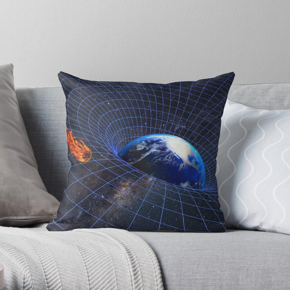 asteroidday Throw Pillow