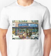 THE JEWISH STREET MONTREAL GIFT STORE RODAL T-Shirt
