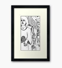 Caring Framed Print