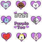 BT21 ~ Koya ~ Ich lila dich von Infirez