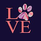 Love is a Four Letter Word - Tie Dye by purelifephotoss