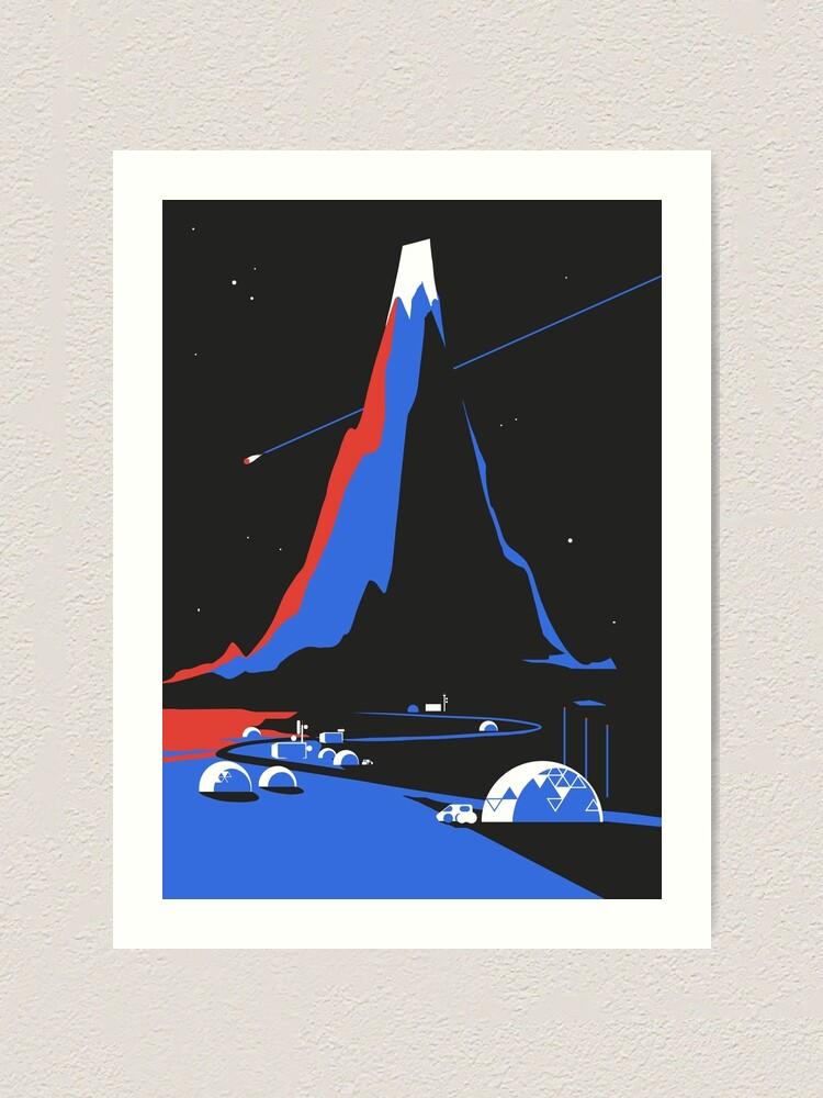 Alternate view of Asteroid FlyBy Art Print
