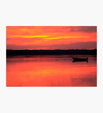 Hadley Point Sunset Photographic Print