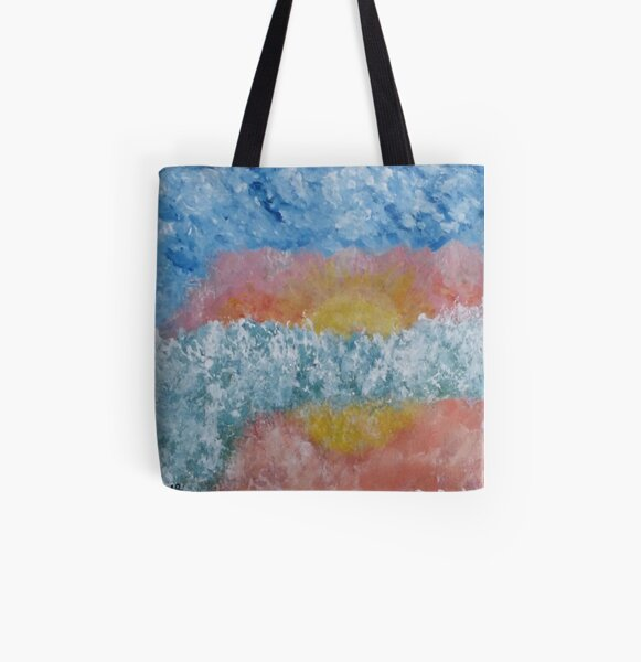 Sunrise and Sunset All Over Print Tote Bag