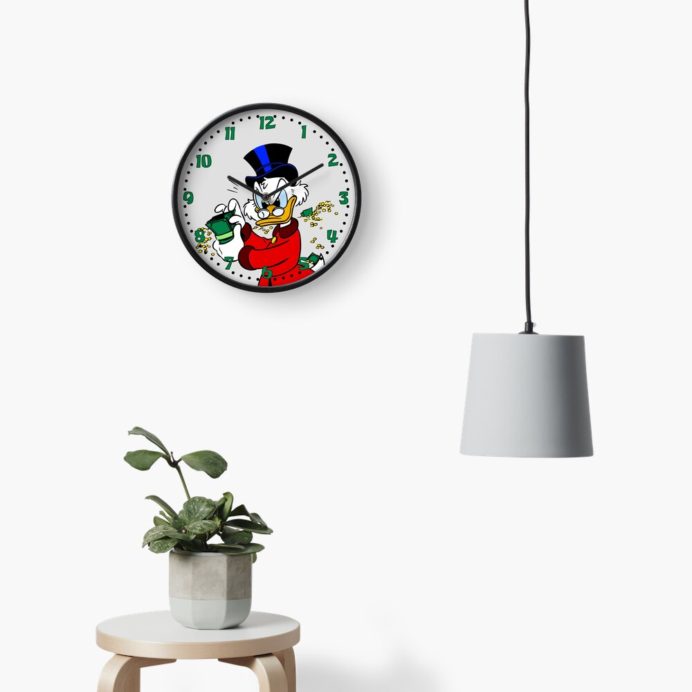 Scrooge McDuck Clock