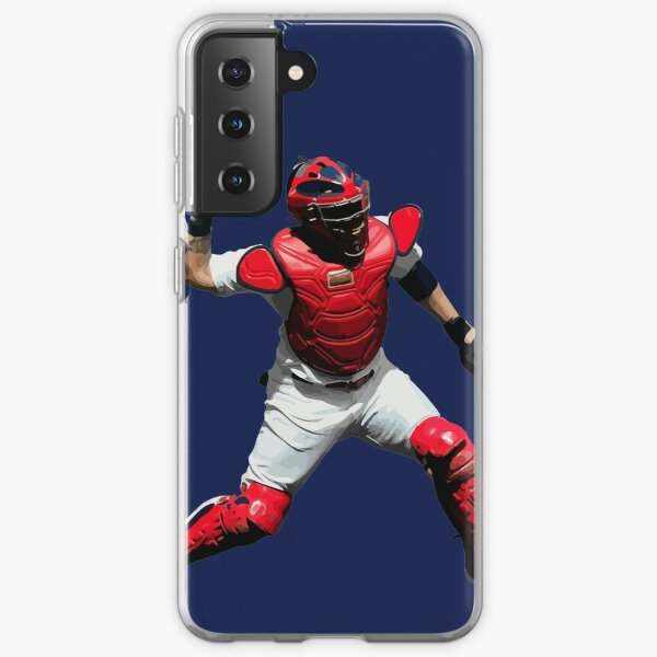 Yadier Molina of the St. Louis Cardinals Illustration Samsung Galaxy Soft Case