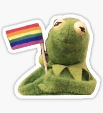 Pride Kermit Sticker