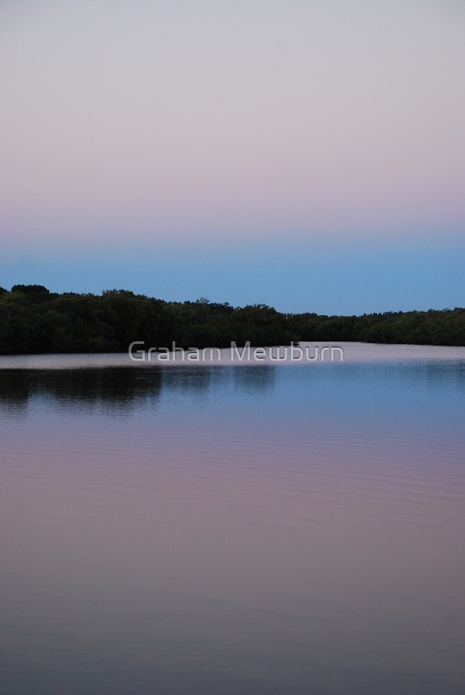 Minimalist Dawn in the Tweed by Graham Mewburn