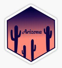 Arizona-Sonnenuntergang-Aufkleber Sticker