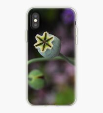 Poppy seed heads iPhone Case