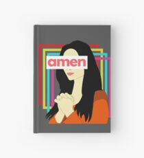 Amen 90s Style Hardcover Journal