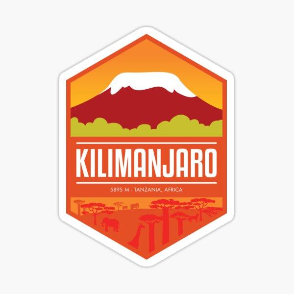 Mount Kilimanjaro - Tanzania Africa Sticker