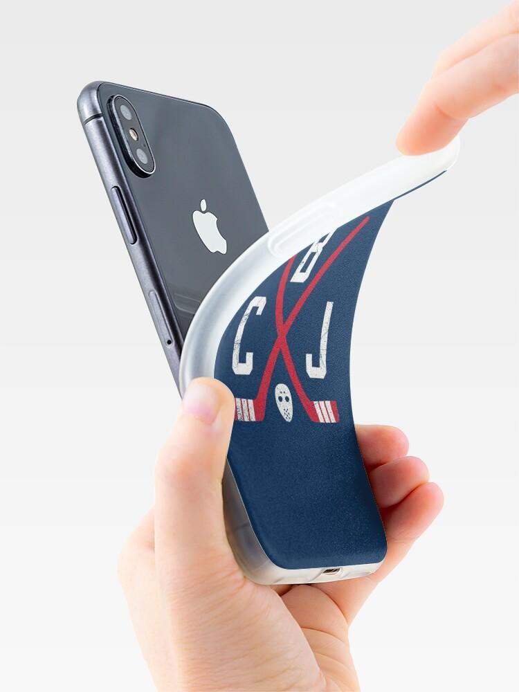 """CBJ Retro Sticks - Navy"" iPhone Case & Cover by"