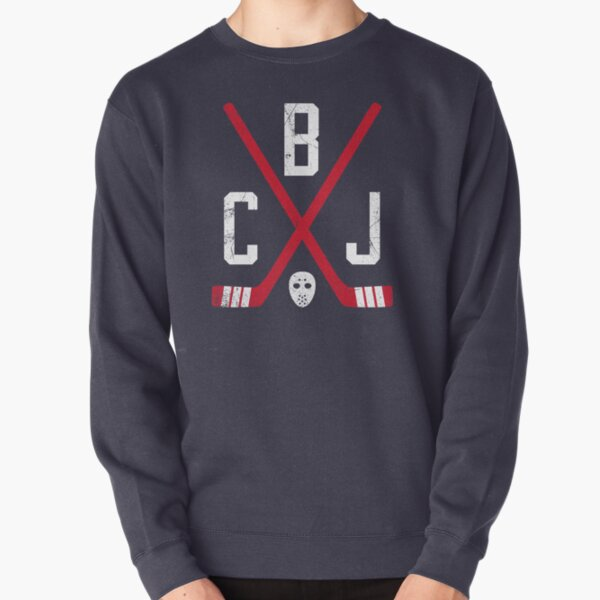 CBJ Retro Sticks - Navy Pullover Sweatshirt