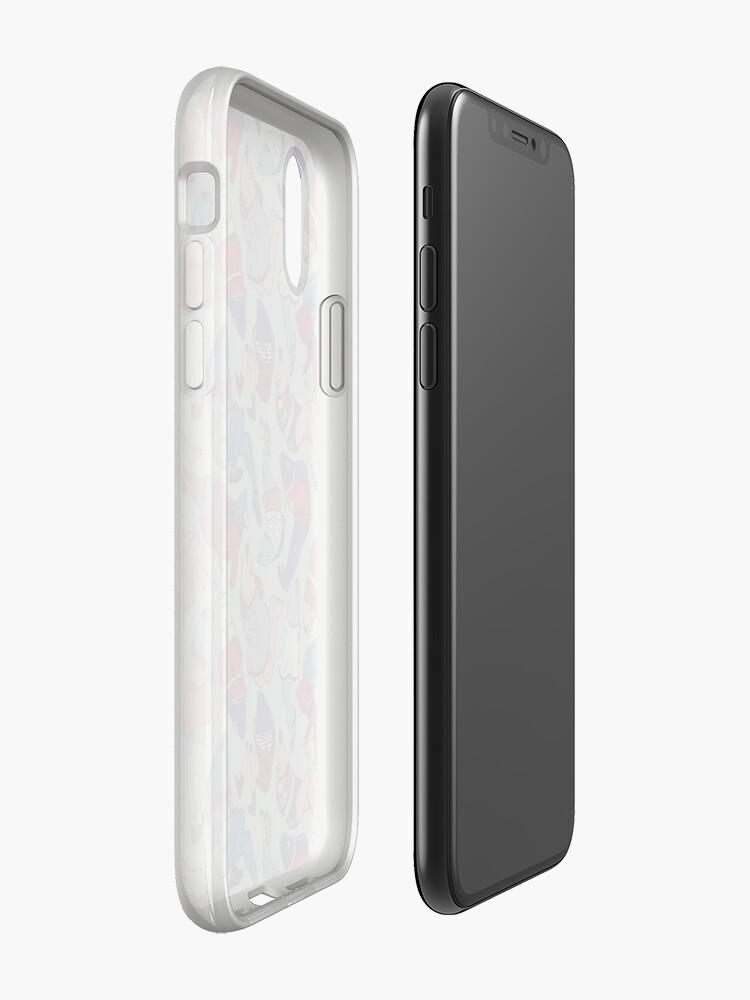 Alternative Ansicht von Peppy Frühling Legfish Muster (helle Komplementärfarben) iPhone-Hülle & Cover